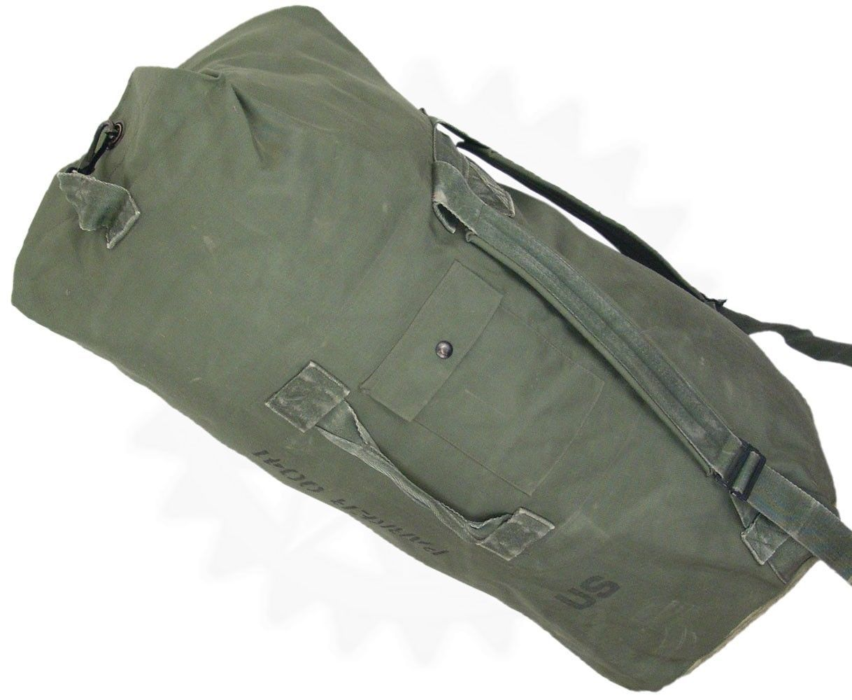 15  Military Duffle Bags - Very Good Condition - Heavy Duty - Army Issue Duffel