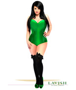 Daisy Corsets Green Satin Corset Romper  - $89.00+