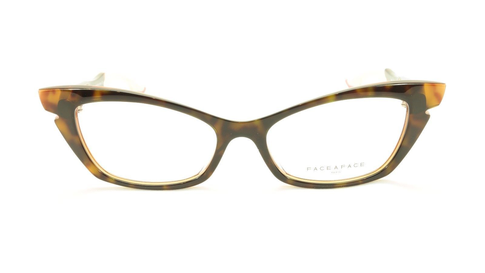 Authentic Face A Face Bocca Sixties 1 Col 461 Dark Tortoise Pink Eyeglasses