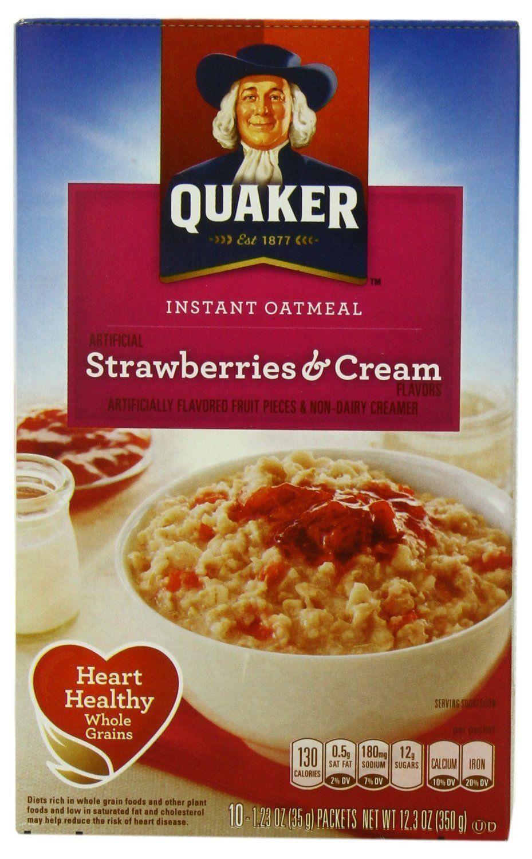 Photo Of Quaker Instant Oatmeal Brown Sugar Dinosaur Eggs
