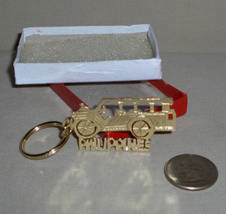 Souvenir Keepsake Tour Bus Shape Key Ring, Philippines - $9.95
