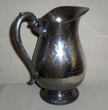1966 SCC Club Championship Trophy Camille Silverplated Pitcher #6017 - $19.95