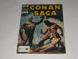 CONAN SAGA - #35 - 1990 - MARVEL COMIC - MAGAZINE - $1.00