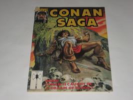 CONAN SAGA comic Vol. 1 #42  A MARVEL Magazine September 1990 Comic - $1.00