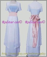 Titanic Rose White Dress Costume - Custom Tailed in Any size - $95.04