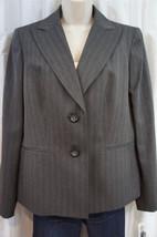 "Evan Picone Suit Blazer Sz 12 Charcoal ""Elizabe... - $37.34"