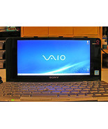 Sony Vaio P Lifestyle Pocket PC P70H Intel Atom 1.33Ghz 60GB HD 2GB Ram ... - $346.50