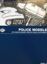 2015 Harley Davidson Police Models Service Shop Repair Manual Supplement NEW - $98.99