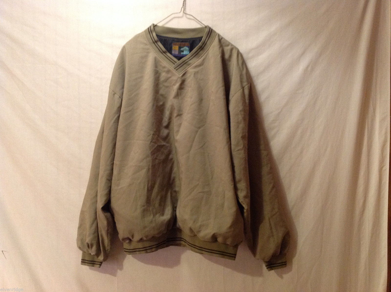 Forrester's Men's Size XL Sweatshirt Pullover Long-Sleeve Shirt Olive Green