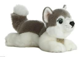 """Aurora Miyoni 8"""" Husky dog   Stuffed Plush Dog - $16.82"""