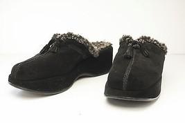 Stuart Weitzman 7 Black Mules Women's Shoe  - $59.00