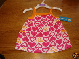 Carter's pullover tank infant baby girl NWT 18 Month ^^ - $8.90