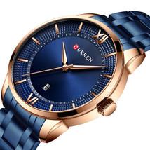 CURREN 8356 Casual Style Waterproof Men Watches Date Display Quartz Watch - $21.75