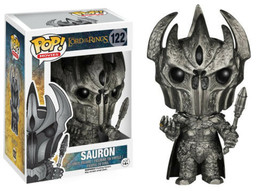 The Lord of the Rings Movies Sauron Vinyl POP! Figure Toy #122 FUNKO NEW... - $13.50