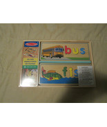 Melissa & Doug See & Spell Spelling Puzzle Wood Toy Brand New Sealed 58+... - $28.49