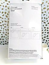 Storage Compression Bags - Large - No Vacuum Required Distressed box sale-New! image 4