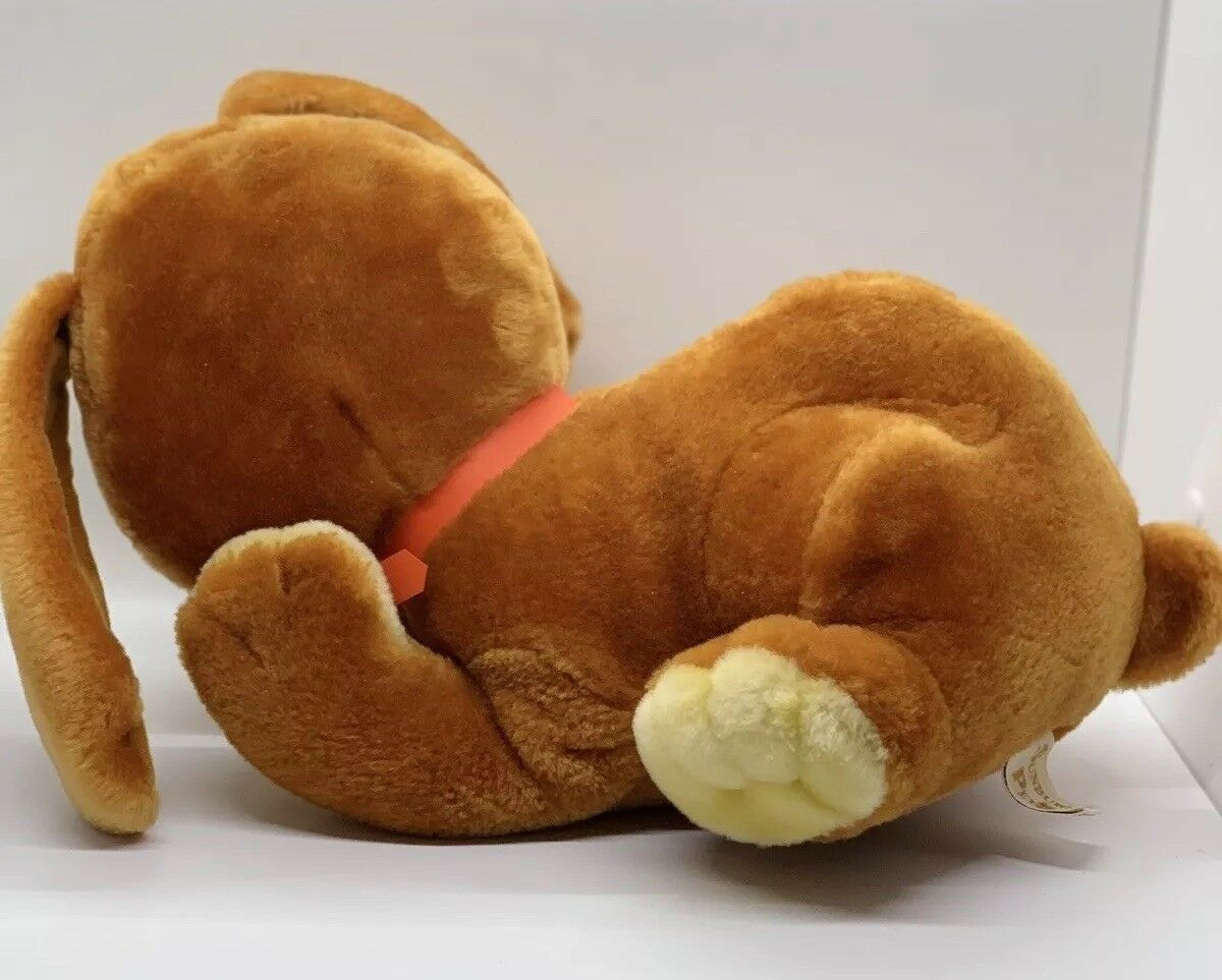 "Sunburst Pets 1983 Vintage Plush Brown Dog Commonwealth Vtg Stuffed Animal 13"" image 4"