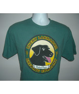 Mens Lucky Labrador Brewing Co Portland Oregon T Shirt large Paws Down Beer - $21.73