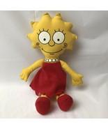"Vintage 1990 Lisa Simpson Doll Plush Soft Body 10"" - $14.84"