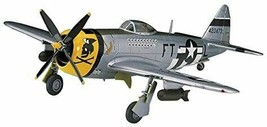 Hasegawa US Army P-47D Thunder Bolt Plastic model Kit w/Tracking# Japan New - $16.97