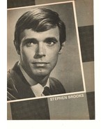 Stephen Brooks teen magazine pinup clipping Star Trek Days of our lives Bop - $2.00