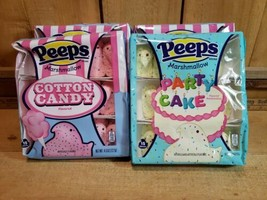 4 Packs-15 ea 60 Chicks PEEPS 3-Cotton Candy 1-Party Cake Candy  BB 02 2021 - $18.02