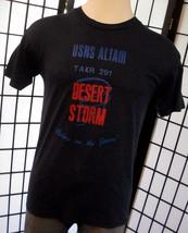 Screen Stars Desert Storm thin retro 50/50 white tag tee shirt large l USA - $19.95