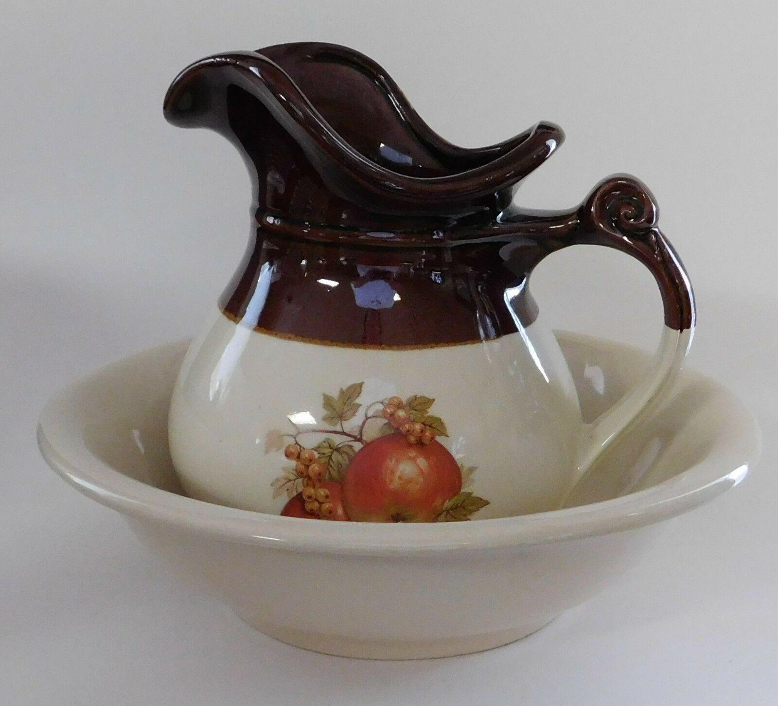 McCoy bowl /& water pitcher set