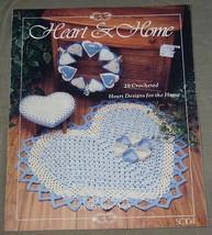 Heart & Home SC104 - 26 Crochet Heart Designs for the Home - $11.39
