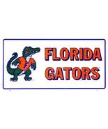 Florida Gators White Mascot Car License Plate Auto Tag Sign - $6.95