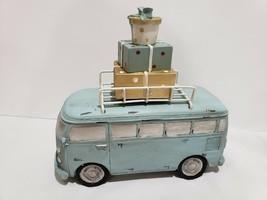 Vintage Style Christmas Volkswagen Bus Presents Figurine Tabletop Home D... - $32.99