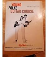 Young Folk GUITAR COURSE Book 1 Alfred Music - Beginner Guitar Instructi... - $8.90