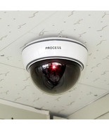 New Top Quality Fake Dummy Dome CCTV Security Camera Flashing LED Indoor... - $17.33