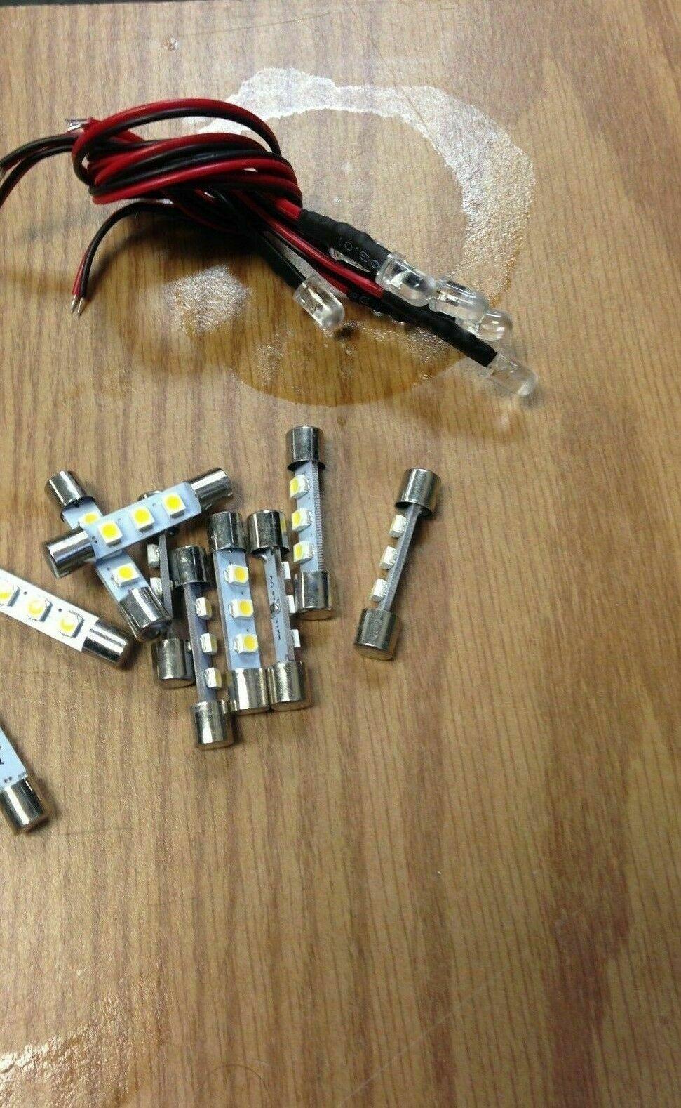Vintage Sansui QRX-5500 //QRX-6500 //QRX-7500  front LED lamps bulbs lights