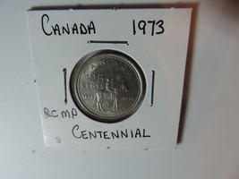 1973 RCMP Canadian Quarter coin A729 - $3.47