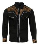 Cowboy Shirt Camisa Vaquera Western Wear El Señor de los Cielos Black/Brown - €38,27 EUR