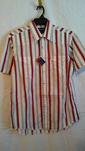 Vintage Wrangler Mens Ss Pearl Button Western Cut Shirt New W/TAGS Size 16 - $13.86
