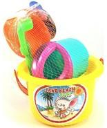 7 pc Kids Sand Sandbeach Beach Toys Shovel Rake Water Tools - $8.99