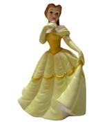 "Disney Porcelain Belle FIGURINE GLAZED Beauty & The Beast SIR LANKA 6"" - $49.49"