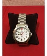 WENGER Quartz Military Diver Watch 79918 All Stainless & Swiss 40mm Z-De... - $75.00