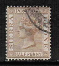 SIERRA LEONE Scott # 11 VF USED (365635419) - $4.70