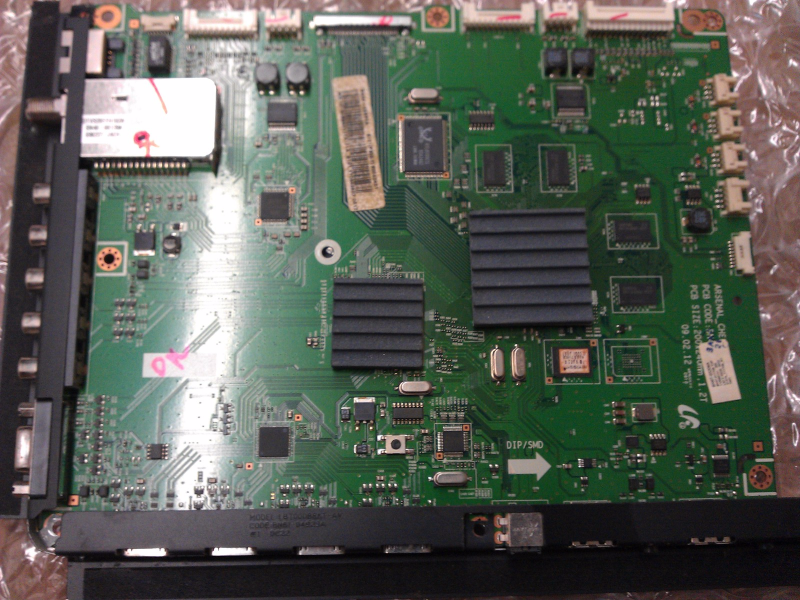 BN94-02820A Main Board Board From Samsung PN50B850Y1FXZA Plasma TV