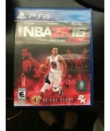NBA 2K16 PlayStation 4 PS4 - Manual included - $5.83