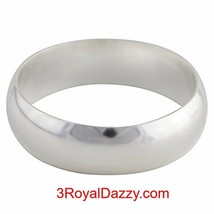 Handmade Solid 999 Silver high polished glossy ... - $13.99