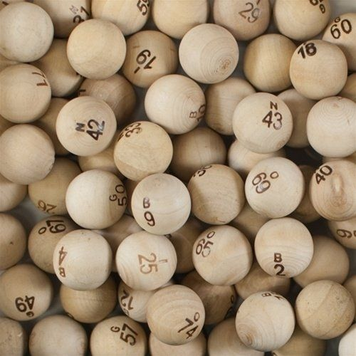 Bingo Wooden Ball Set
