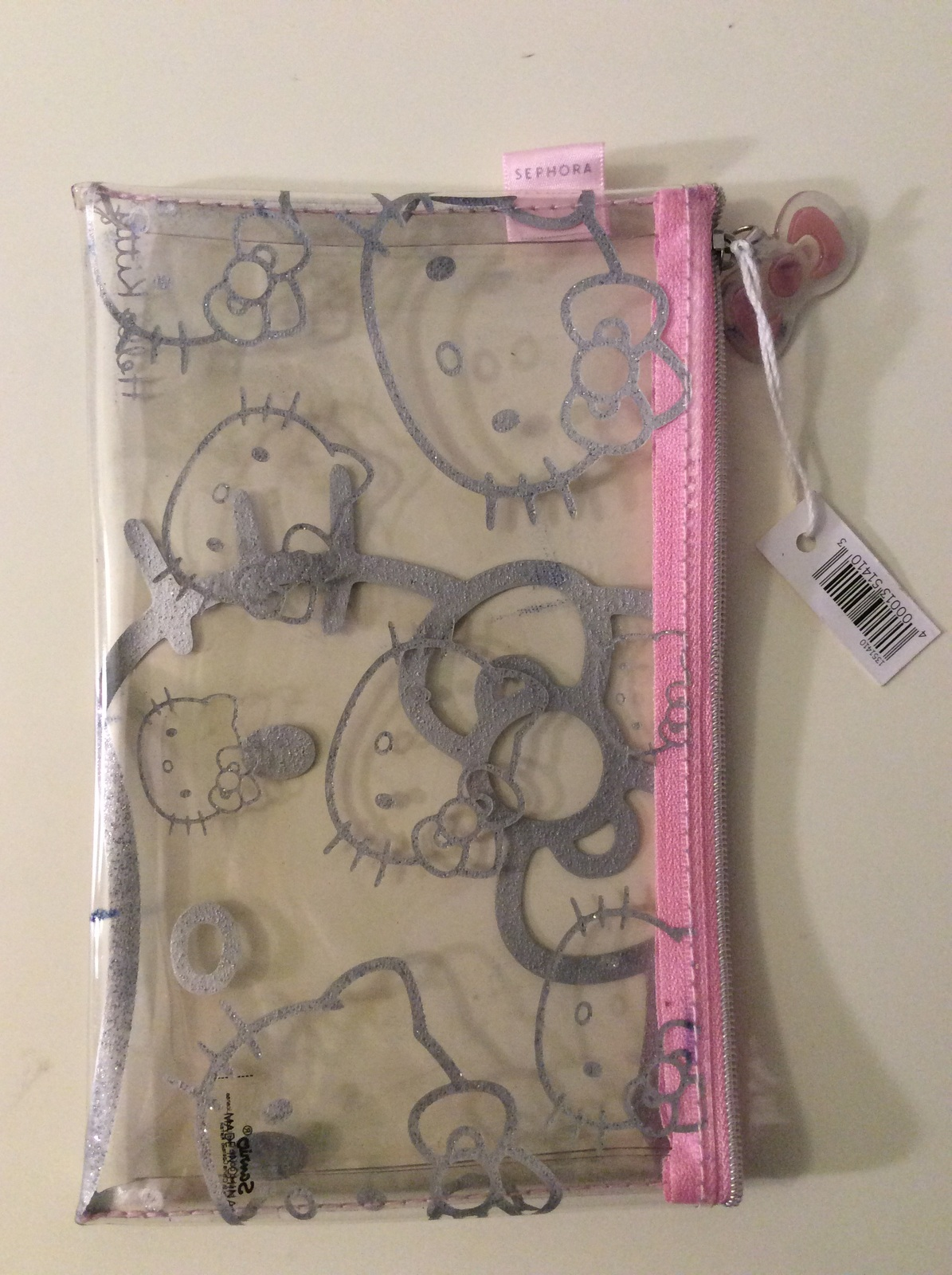 a36264fe1dc8 Image. Image. Previous. Hello Kitty Clear Plastic Sephora Cosmetic Bag · Hello  Kitty Clear Plastic ...