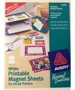 Avery Printable Magnetic Sheets White for Inkjet printers 3270 - $15.00
