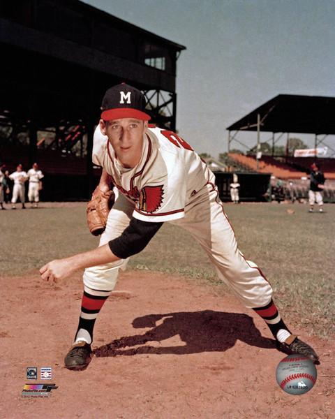 Primary image for Warren Spahn Milwaukee Braves 141PF Vintage 8X10 Color Baseball Photo