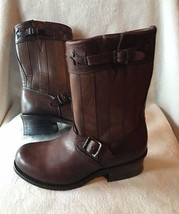 Frye J04317 Engineer Americana Short Western Boot Brown NEW $690 sz US 8 - $321.47
