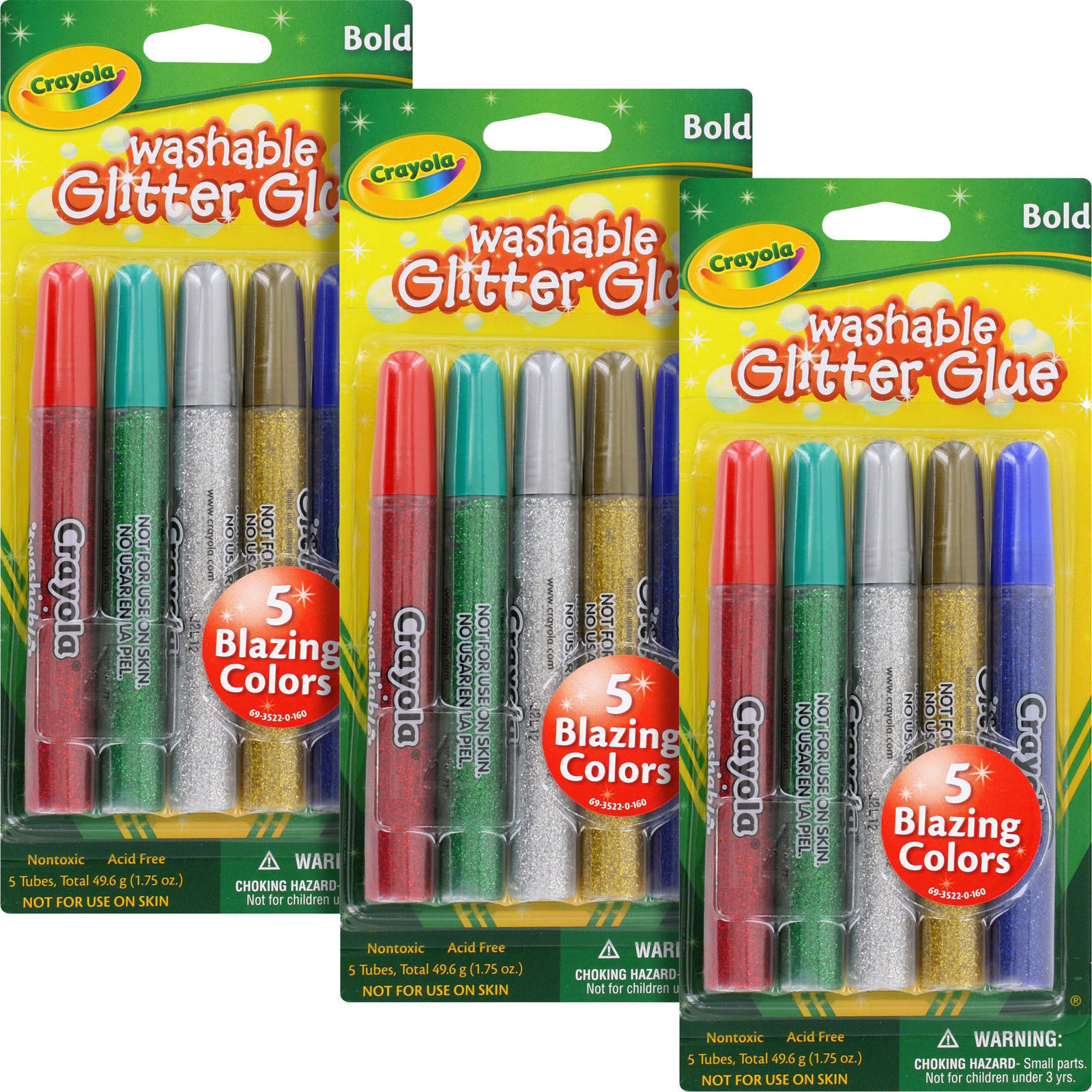 Crayola arts and crafts glitter glue 5 and 50 similar items for Arts and crafts glitter